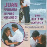 ¡Juan Ferrara se puso nervioso... pero Verónica le dio confianza!  Revista TVyNovelas.