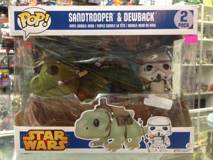 Funko POP! Star Wars Sandtrooper & Dewback 2 Pack