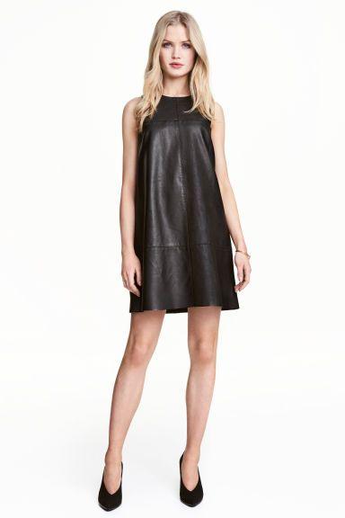 Mouwloze jurk - Zwart - DAMES | H&M NL 1