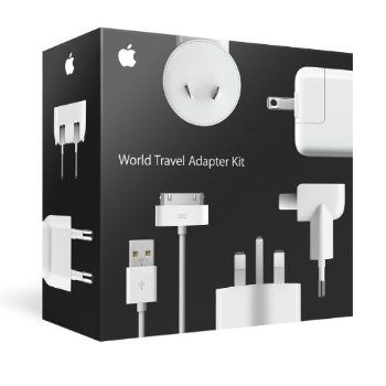 Apple MB974ZM/B World Travel Adapter Kit. Dont forget your adapters...you'll kick  yourself over and over if you do