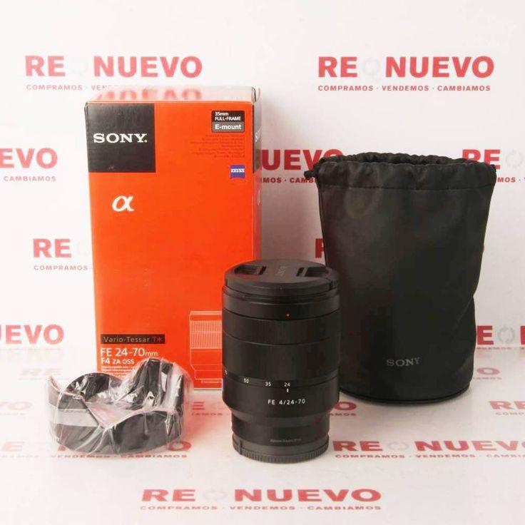 SONY Vario-Tessar T* FE 24-70mm F4 SEL2470Z E280195   Tienda online de segunda mano en Barcelona Re-Nuevo