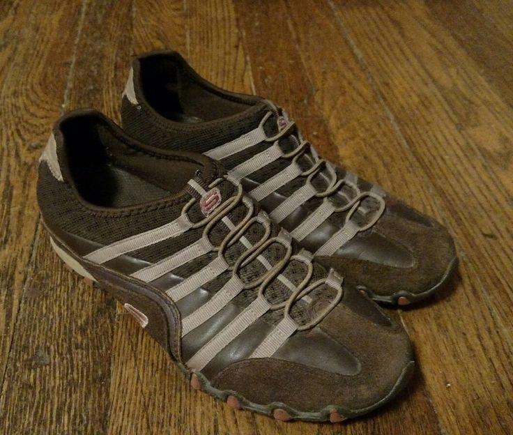 Women's Skechers Slip On Athletic Walking Shoes Sneakers Size 6.5 #Skechers #WalkingAthletic