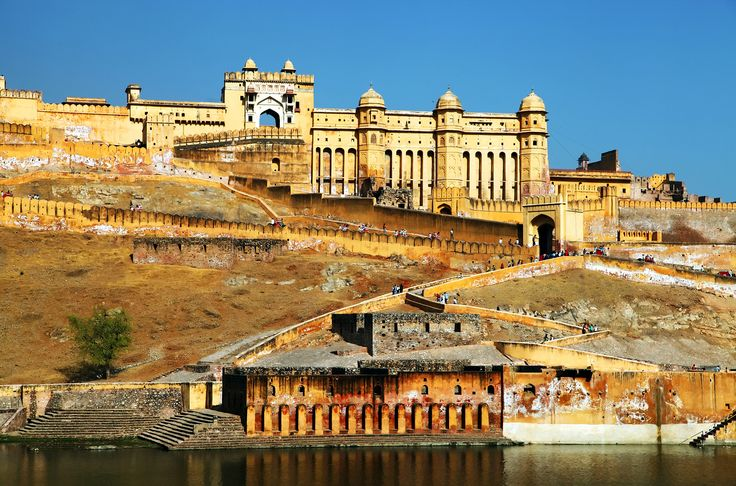 The Amer Fort in Agra