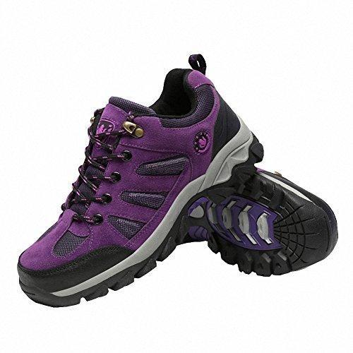 Oferta: 44.49€ Dto: -22%. Comprar Ofertas de Ben Sports Púrpura Botas de senderismo Zapatillas de senderismo Hombre Mujer barato. ¡Mira las ofertas!