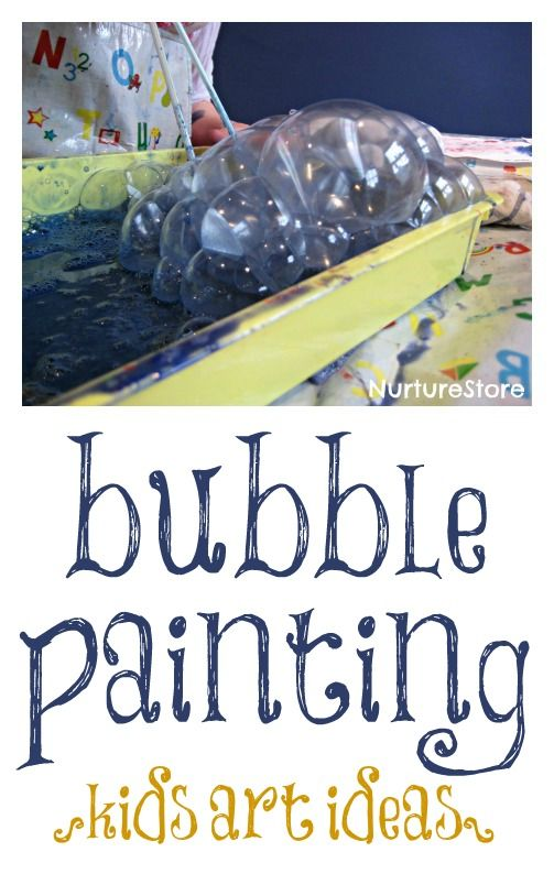 Bubble painting