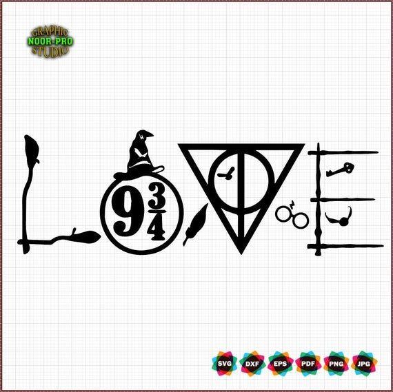 Download Harry Potter love svg in 2020 | Svg, Grinch face svg ...
