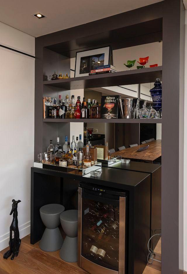 Cantinho do bar!  ❥Hobby&Decor | Instagram.com/hobbydecor | #hobbydecor #decor #arquitetura
