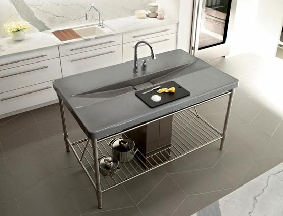 Glaswand Keuken Kosten : Kitchen Countertop and Sink Combo