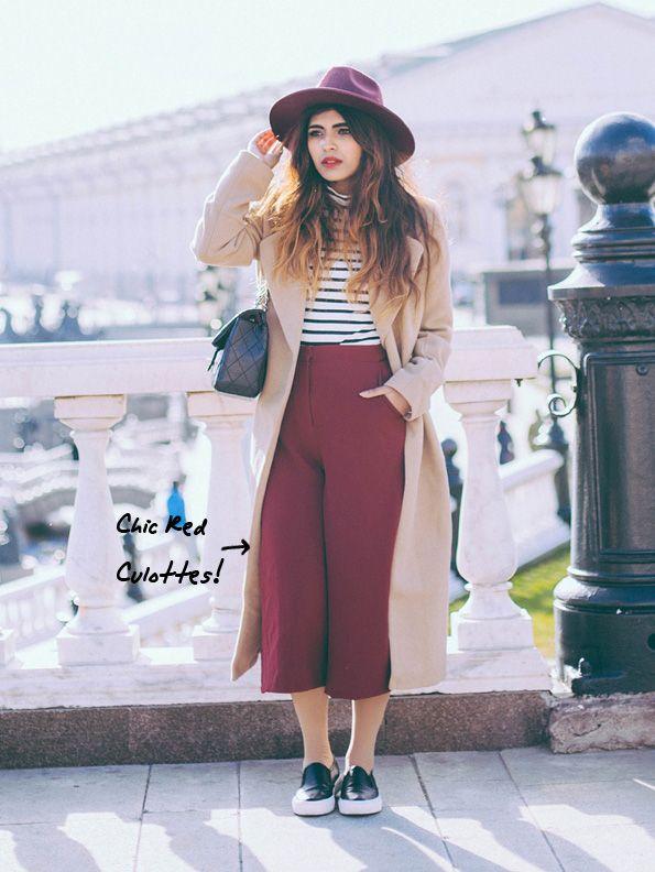 Falda pantalon Bershka Oversize culottes