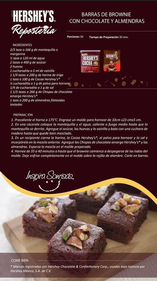 brownies de chocolate HERSEY´S