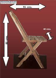 25 best ideas about mesas plegables de madera on pinterest silla madera plegable sillas de - Aki sillas plegables ...