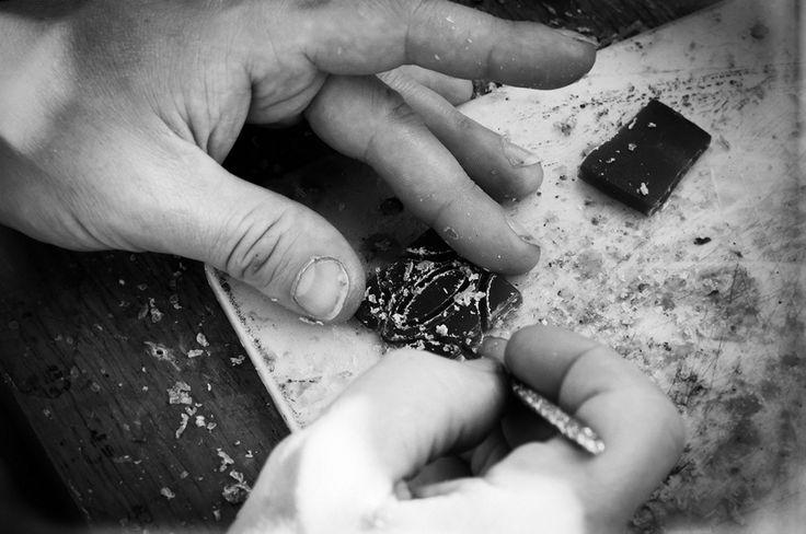 Each Adan Ballou item is modelled in wax, then transformed into a original bronze casting. www.adanballou.com