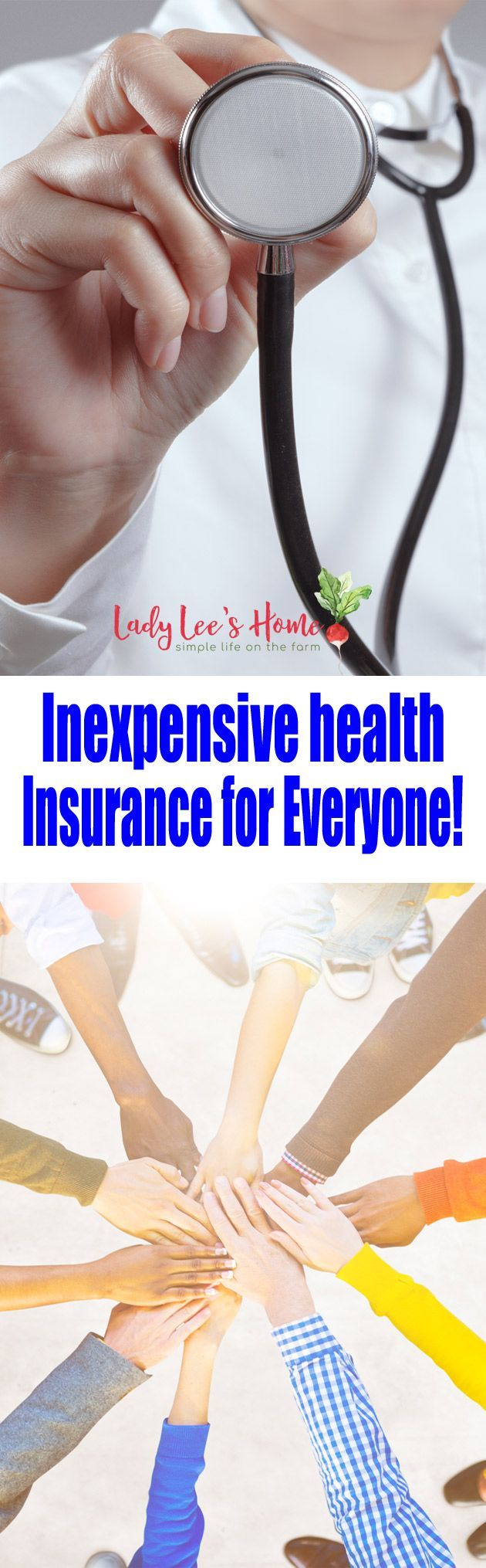 Are you tired of paying so much of your hard-earned money to health insurance companies for a coverage that doesn't make any sense? Here is an inexpensive health insurance option for everyone!  #LadyLeesHome #healthinsurance #affordable #healthy #sick #healthshare