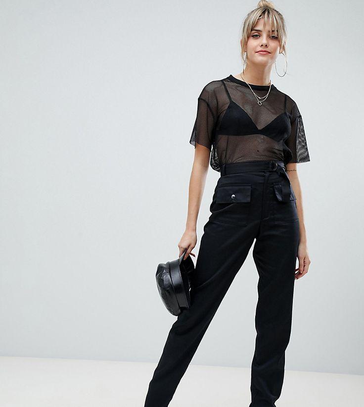 PrettyLittleThing - Cargo-Hose mit Taschendetail und