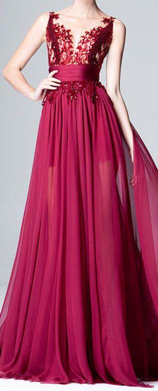 Zuhair Murad Pre Fall 2014 Collection bridesmaid dress cut