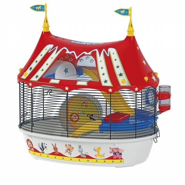Ferplast Hamster Cage, pretty nice as a funny decoration. What do you thing?