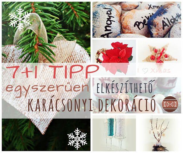 NB Kreatív Manufaktúra: 7+1 tipp - egyszerűen elkészíthető karácsonyi deko...