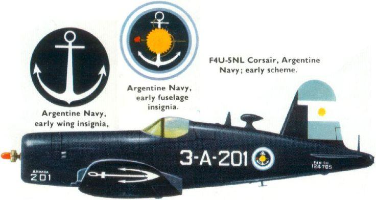 Argentine Navy F4U-5NL Corsair