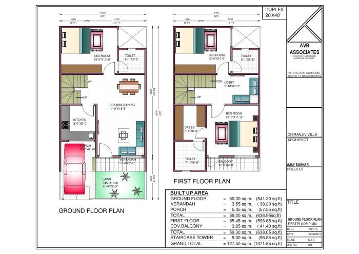 20 40 House Plan 3d 20 By 40 Ft House Plans Best Of 20 X 40 House Floor Plans Beautiful 20x40 House Plans 2bhk House Plan House Floor Plans