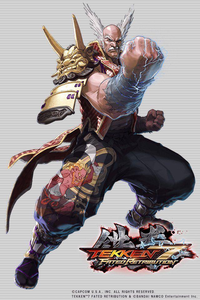 Olololkitty Tekken 7 Fated Retribution Heihachi Mishima By Takuji Kawano Mishima Tekken 7 Samurai Gear