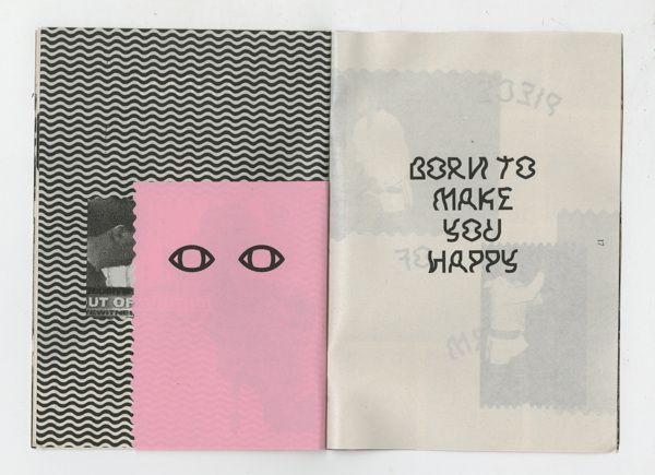 You Drive me Crazy Britney Spears Zine by Melvin Tan, via Behance