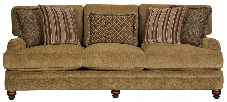 Corinthian Elegant Styled Traditional Cottage Sofa At Miskelly Furniture