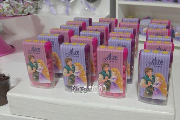 Rótulo para balinha Tic Tac Rapunzel  :: flavoli.net - Papelaria Personalizada :: Contato: (21) 98-836-0113  vendas@flavoli.net