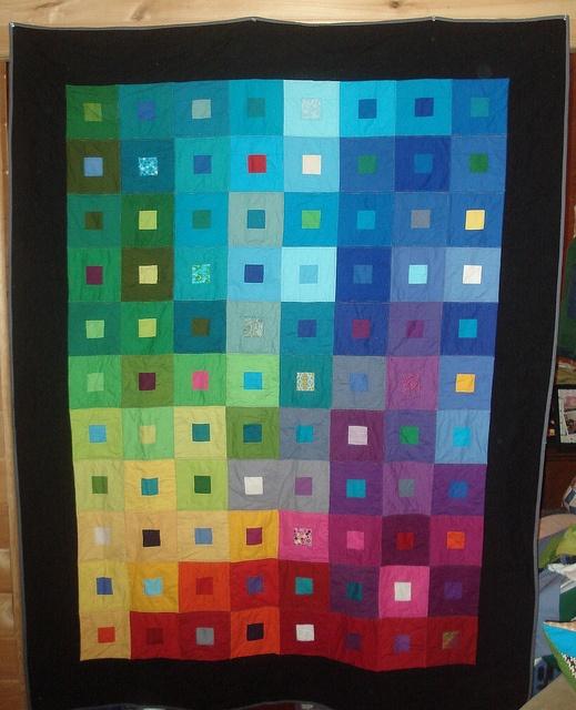 Color gradient quilt