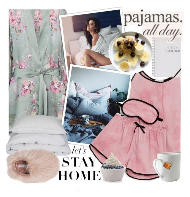 """""""I just wanna lay in my bed !"""" by euafyl ❤ liked on Polyvore featuring Meng, DKNY, By Nord, Steve Madden, WALL, le mouton noir & co. and Disney"""