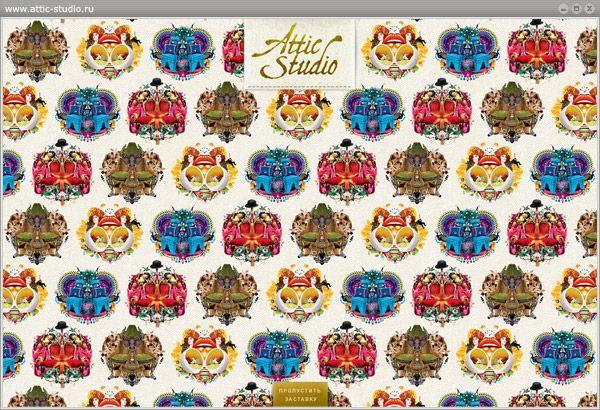 "Сайт ""Attic Studio"""