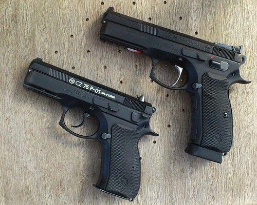 CZ 75 P-01 and CZ CZ 75 SP -01