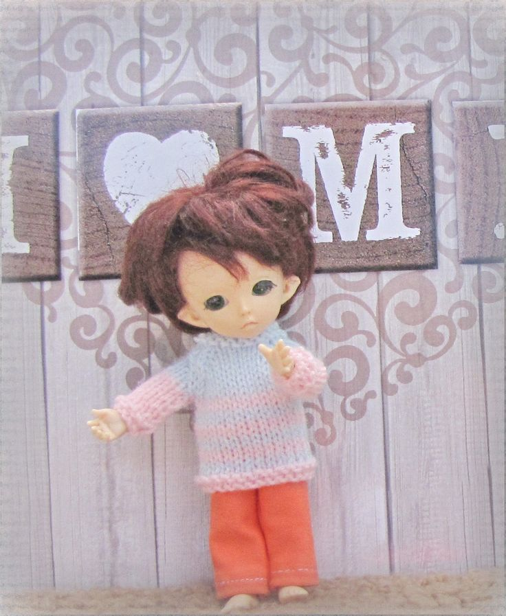 3 X clothes for the Pukifee doll free shipping by Shopdollwithowl on Etsy