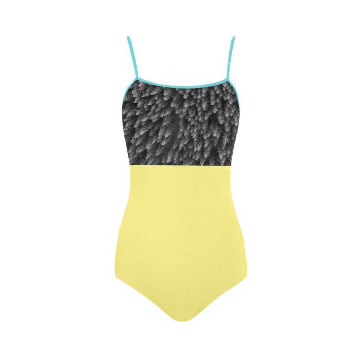 New! Designers bikini availale in fresh Colors. Shop vintage fashion 2016. WE ARE ORIGINAL ART ATELI Strap Swimsuit.