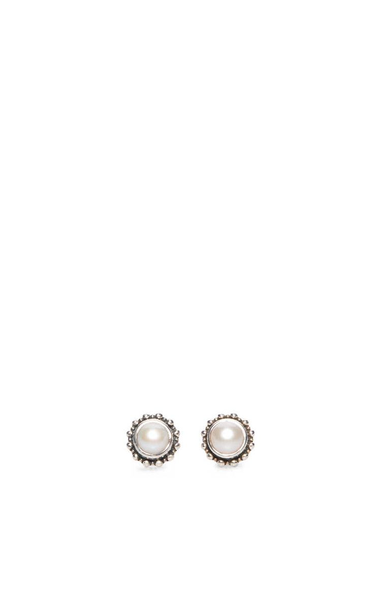 Örhänge Flower Pearl SILVER - KumKum - Designers - Raglady
