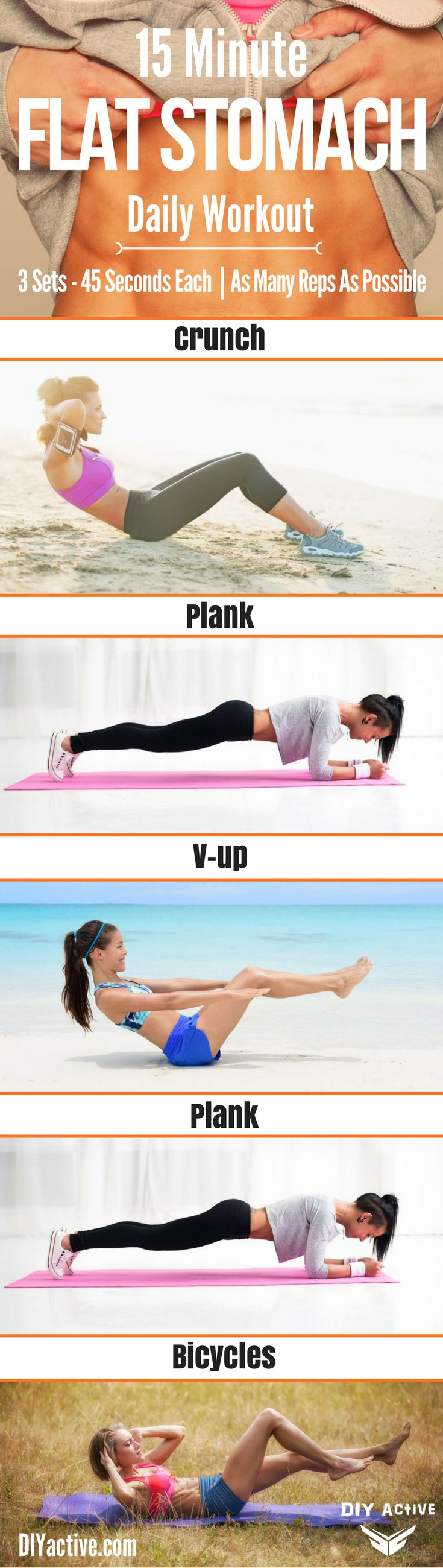 Get the ULTIMATE two week diet plan to go along with this quick, core workout! @DIYactiveHQ #workout