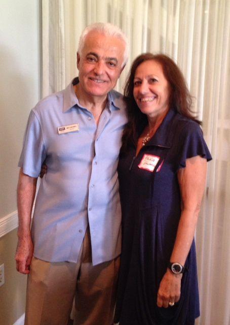 Mo & Nada Guimel at the Sister Cities Perpignan luncheon at the SaraBay Country Club November 4, 2013