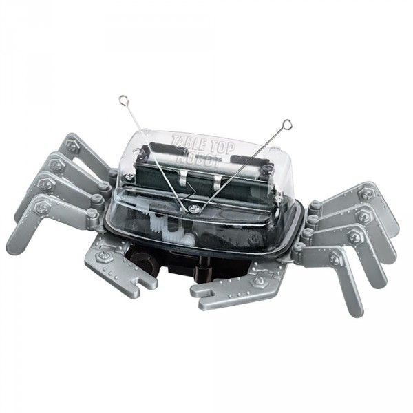 Tabletop robot (won't go off edge) National Geographic shop Table Top Robot Construction Kit 24.95