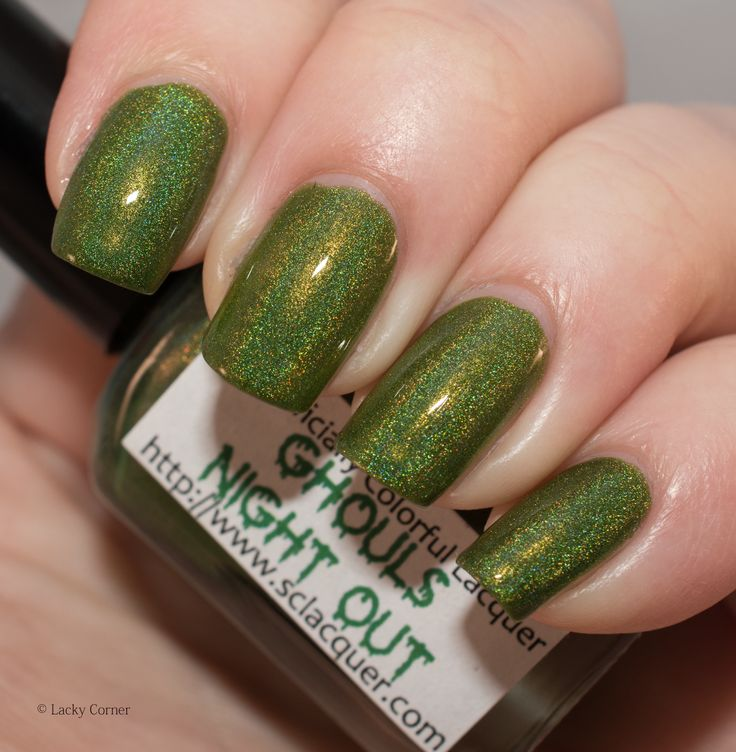 Lacky Corner: Reader's Choice - Superficially Colorful Lacquer Ghouls Night Out
