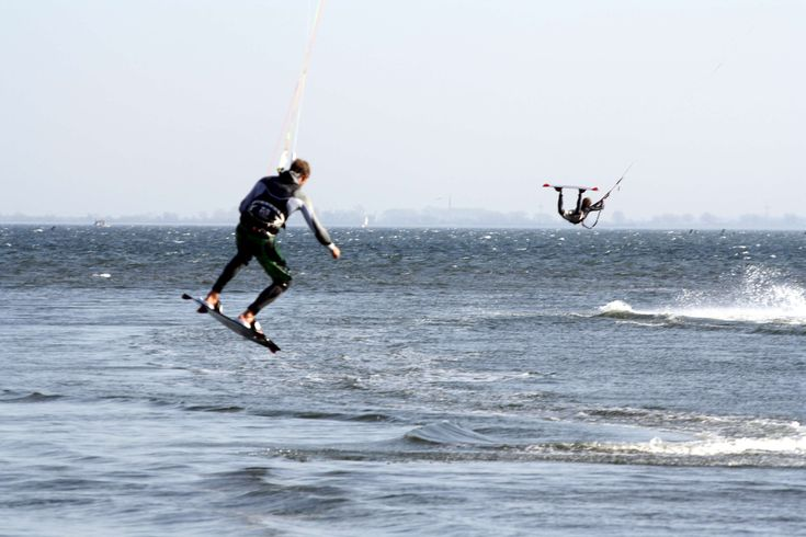 #baltic sea #double jump #fehmarn #kitesurfing #watersports