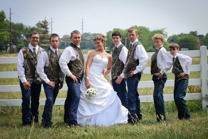 Country groomsmen @Denise H. Evanoff