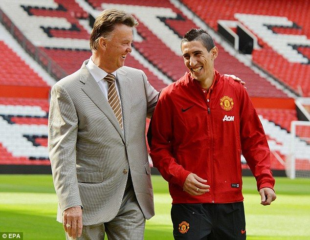 Angel di Maria can't even lift the gloom at Manchester United #dailymail