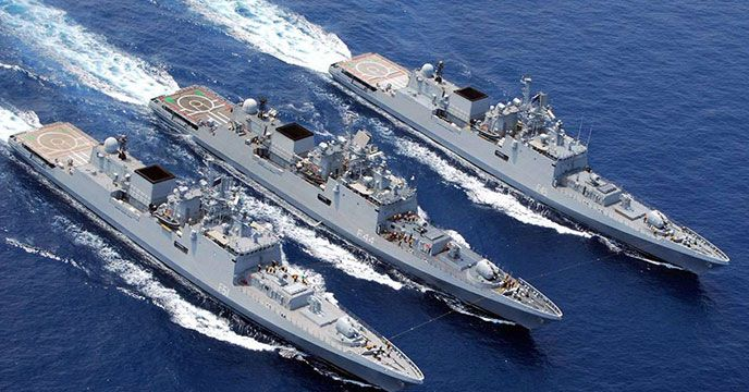 New Delhi The Indian Maritime Forces On Tuesday Was Celebrated For Their Role In The 1971 India Pakistan War As Leaders From A Indian Navy Navy Day Navy Ships