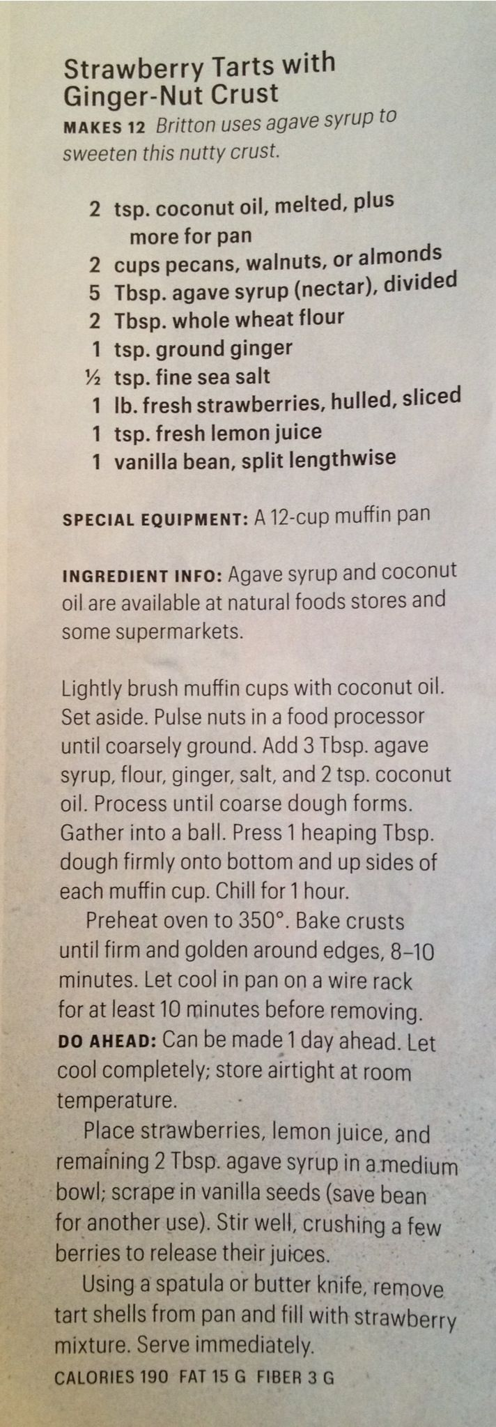 tarts with ginger-nut crust | Desserts | Pinterest | Strawberry Tarts ...