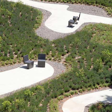 la paz nursing home garden by estudio caballero coln in madrid spain click on - Garden Park Nursing Home