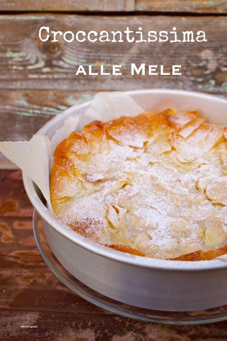 torta alle mele: con pasta fillo