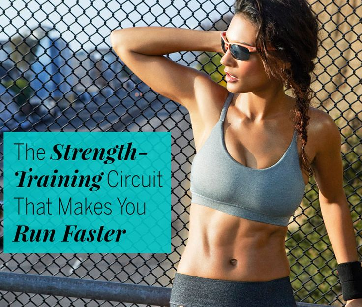 This strength circuit hits the sweet spot where your body gets the extra juice it needs to run faster without postworkout soreness slowing you down.