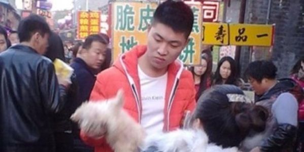 Demand for conviction for man who beat 5 puppies to death in broad daylight - where else but Asia...