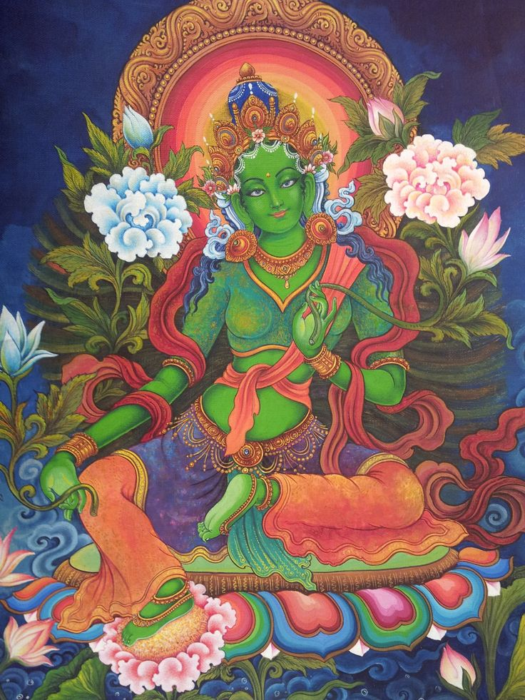 мужа певицы зеленая тара в буддизме картинки берег