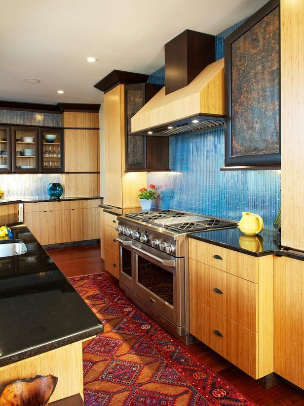 Contemporary | Kitchens | Dave Stimmel : Designers' Portfolio : HGTV - Home & Garden Television | Pretty backsplash!