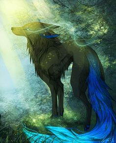 Anime Wolf Drawing ...